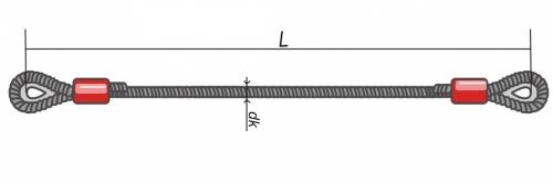 Стропы канатные ВК - ветвь канатная