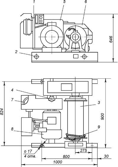Лебедка ЛМ-2
