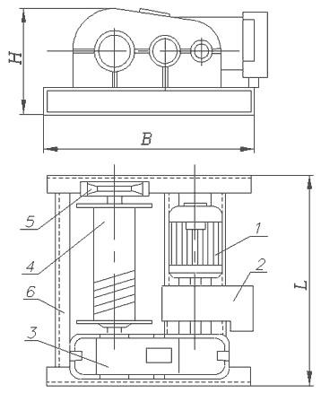 Лебедка тяговая ЛМ-3,2