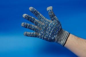Перчатки рабочие серая березка волна