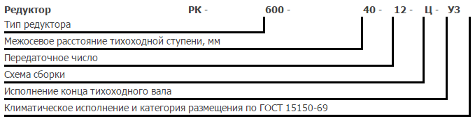 Редуктор рк