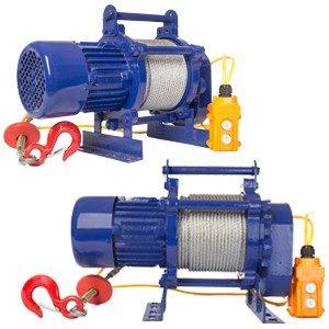 Лебедка электрическая KCD-300кг 30м 220В