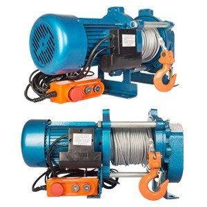 Лебедка электрическая KCD-1000кг 60м 380В